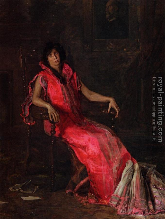 Thomas Eakins : Portrait of Suzanne Santje